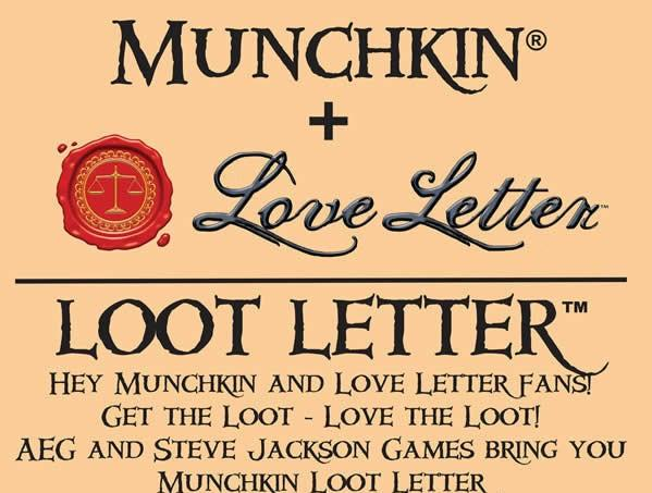 Munchkin: Loot Letter (Clamshell Edition)