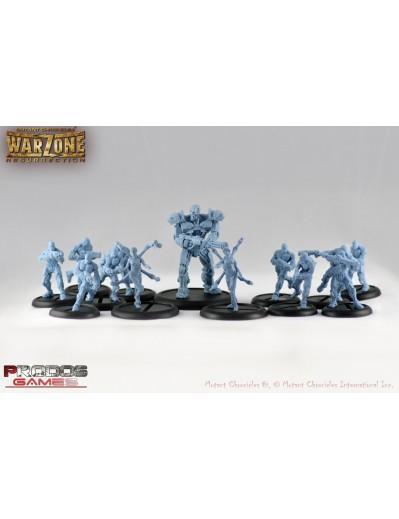 Warzone Resurrection: (Cybertronic) Starter Box