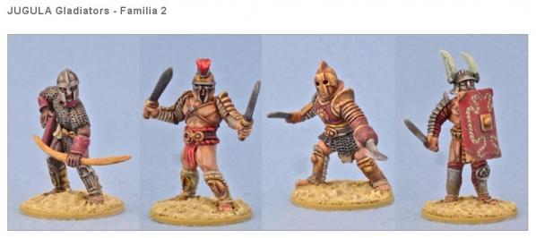 JUGULA: (Gladiators) Familia #2