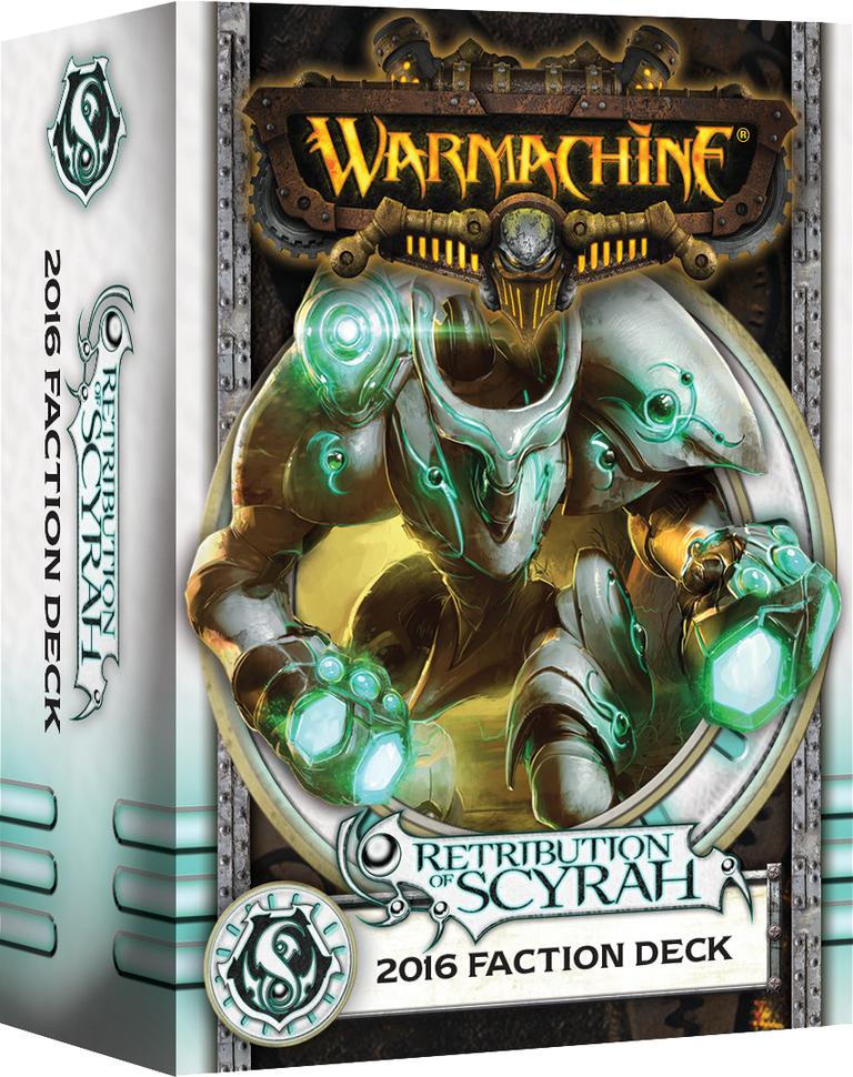 Warmachine: Retribution of Scyrah 2016 Faction Deck (Mk3)