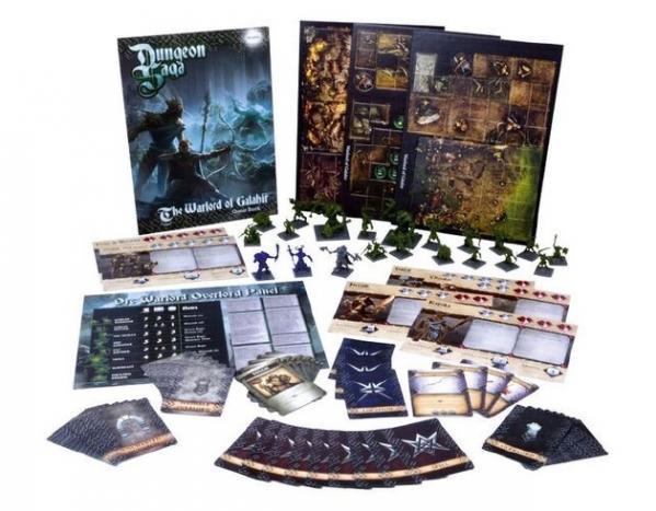Dungeon Saga: The Warlord Of Galahir (Expansion)