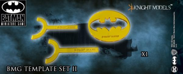Batman Miniature Game: BMG Templates Set 2