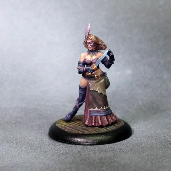 Bombshell Miniatures: Elizabeth Beckford - Assassin (w/o Daggers)