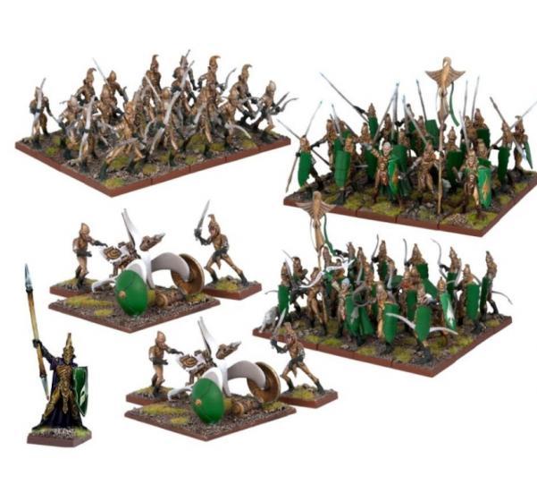 Kings Of War: (Elf) Elf Army