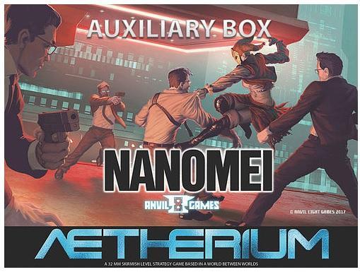 Aetherium: Nanomei Auxiliary Box Set