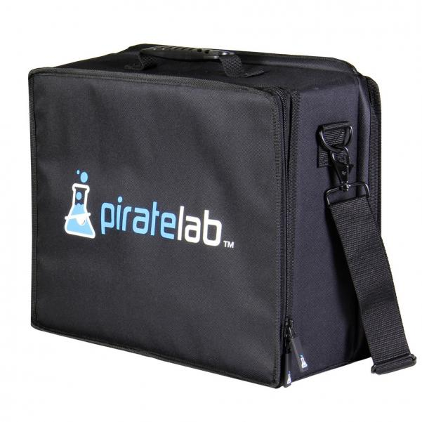 Pirate Labs: Pirate Lab Large Case (Armor Tray, Large 3-Row, Black + 8 Dividers)