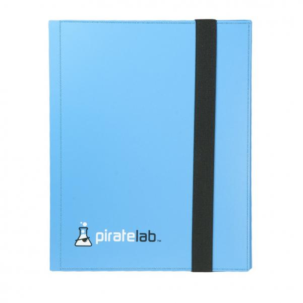 Pirate Labs: Basic Card Binder (20 9-card pages) - Blue