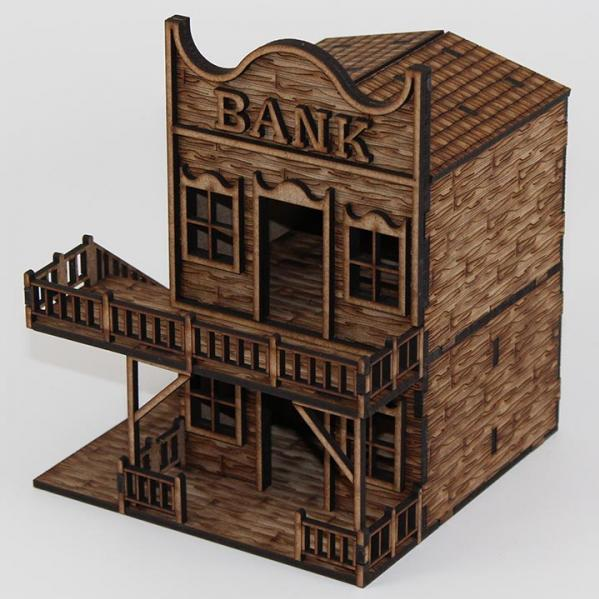 Laser Craft Workshop MDF Terrain: Bank