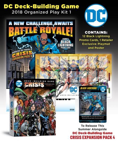DC Comics DBG: 2018 Organized Play Kit 1 Black Lightning [Retail Only]