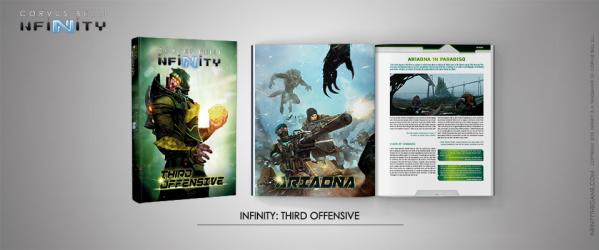 Infinity: Third Offensive [includes limited Freedom Fighter promo mini]