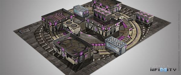 Infinity Accessories: Dawn-02 Aplekton Scenery Pack