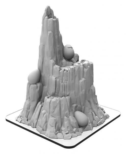 Monsterpocalypse: Buildings - Mount Terra (resin)