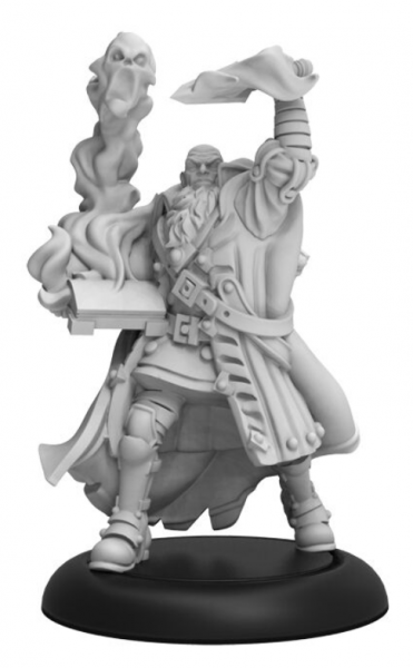 Warmachine: Lord Roget d'Vyros – Infernal Character Solo (metal)