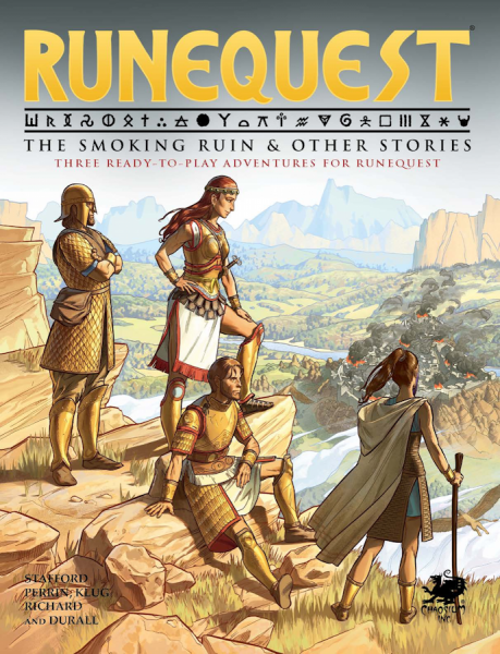 RuneQuest RPG: The Smoking Ruin & Other Stories (HC)