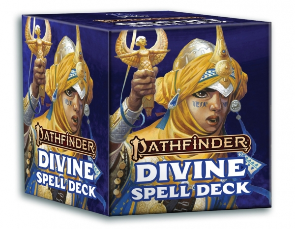 Pathfinder (P2): Divine Spell Cards (Accessory)