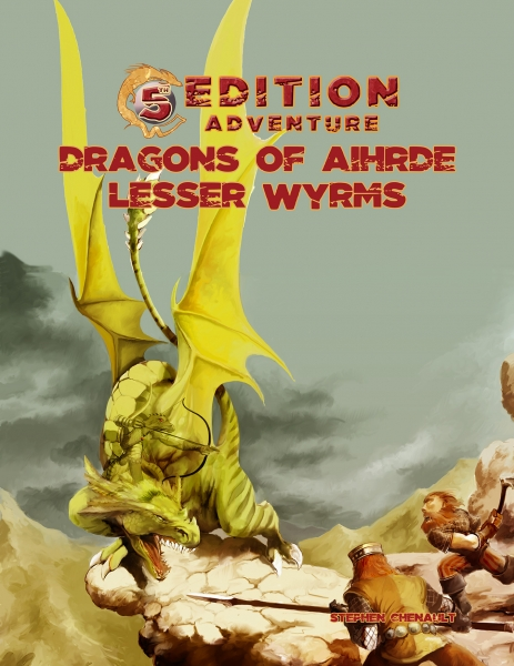 D&D 5th Edition Adventures: Dragons of Aihdre