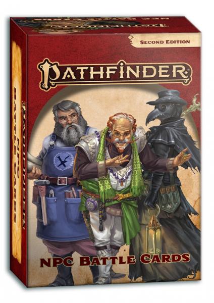 Pathfinder (P2): NPC Battle Cards (Accessory)