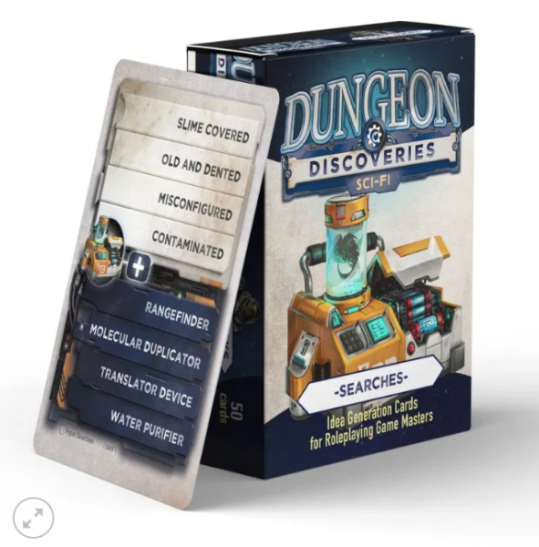 Dungeon Discoveries: Scifi Searches card deck