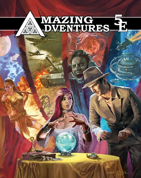 Amazing Adventures RPG: Core Rules (D&D 5th Edition compatible)