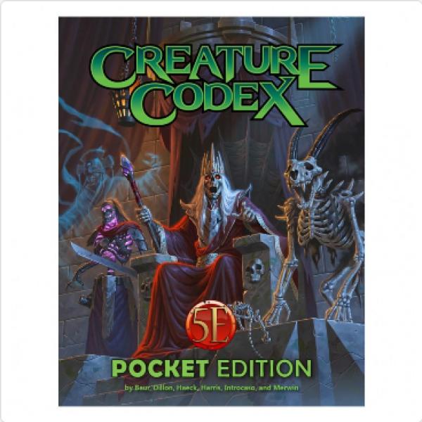 Creature Codex Pocket Edition (5E)
