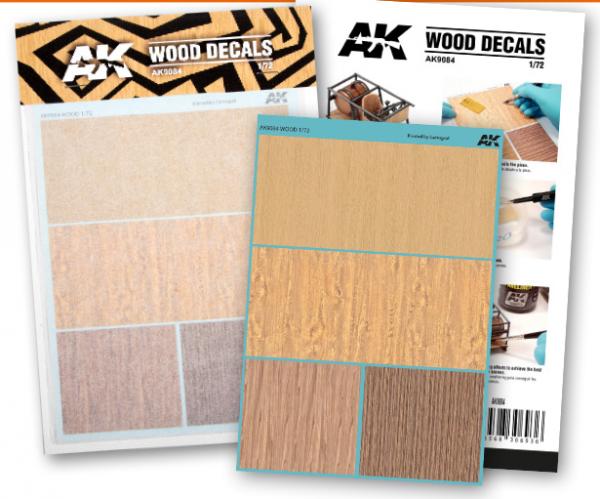 AK-Interactive: Wood Decals