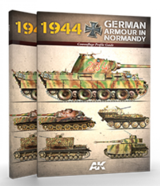 AK-Interactive: 1944 German Armor in Normandy - Camouflage Profile Guide
