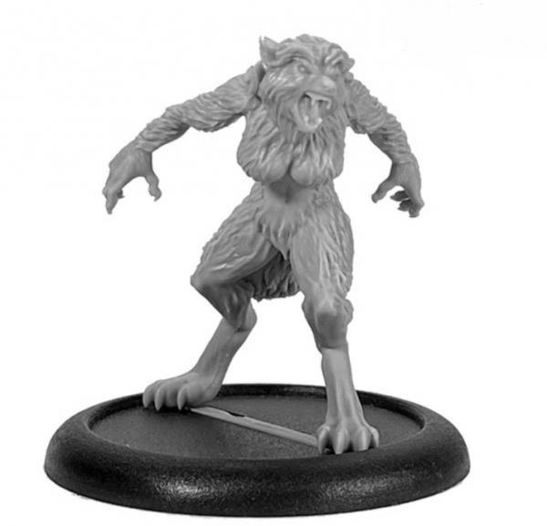 Bombshell Miniatures: Ginger Wolf