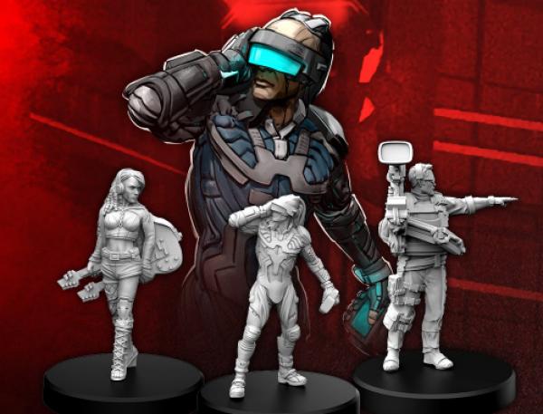 Cyberpunk Red RPG: Edgerunners C - Rocker, Netrunner, and Media