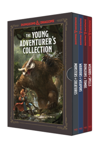 D&D: A Young Adventurer's Collection (4-Book Boxed Set)