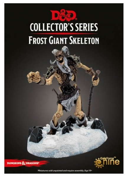 D&D Miniatures: Icewind Dale Rime of the Frostmaiden - Frost Giant Skeleton (1)
