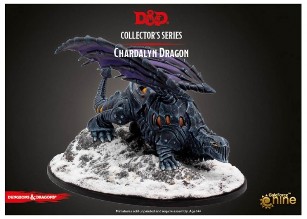 D&D Miniatures: Icewind Dale Rime of the Frostmaiden - Chardalyn Black Dragon (1)