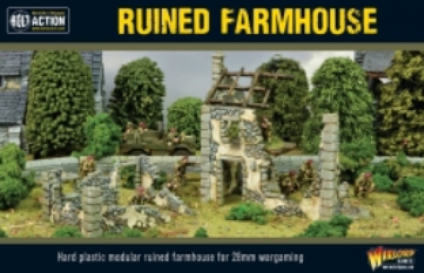 Bolt Action: (Terrain) Ruined Farmhouse (Reformatted)