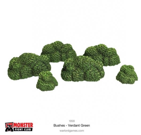 Monster Scenery: Bushes - Verdant Green
