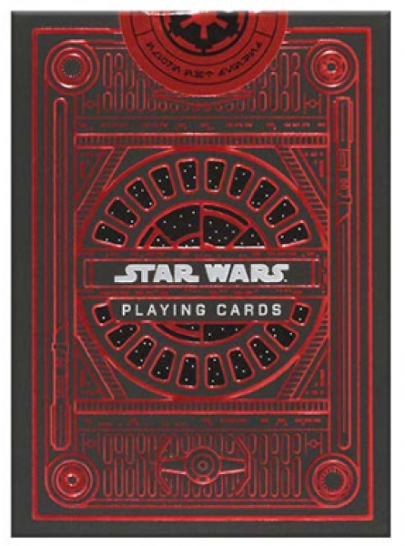 Bicycle Standard Playing Cards: Star Wars Deck - Dark Side (1 deck)