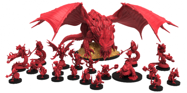 Epic Encounters: Lair of the Red Dragon (5E)