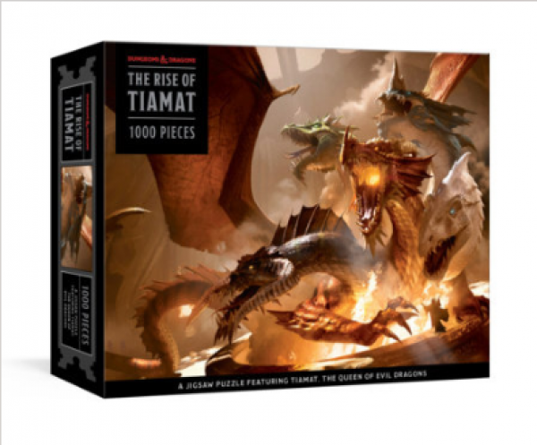 The Rise of Tiamat Dragon Puzzle