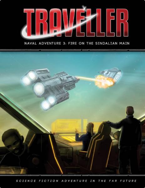 Traveller RPG: (Adventure) Fire on the Sindalian Main