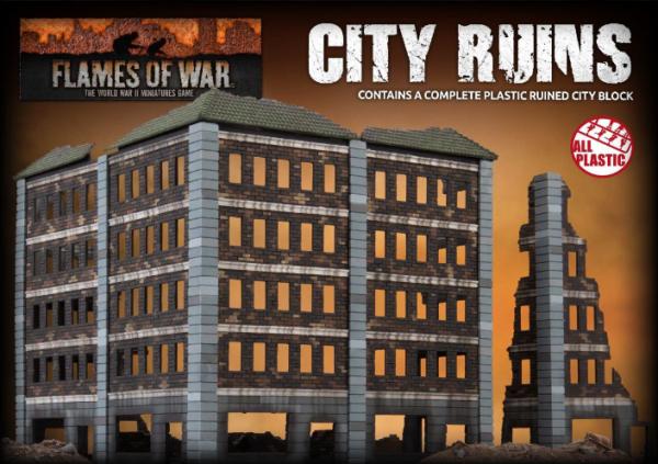 Battlefield in a Box: City Ruins (Plastic)