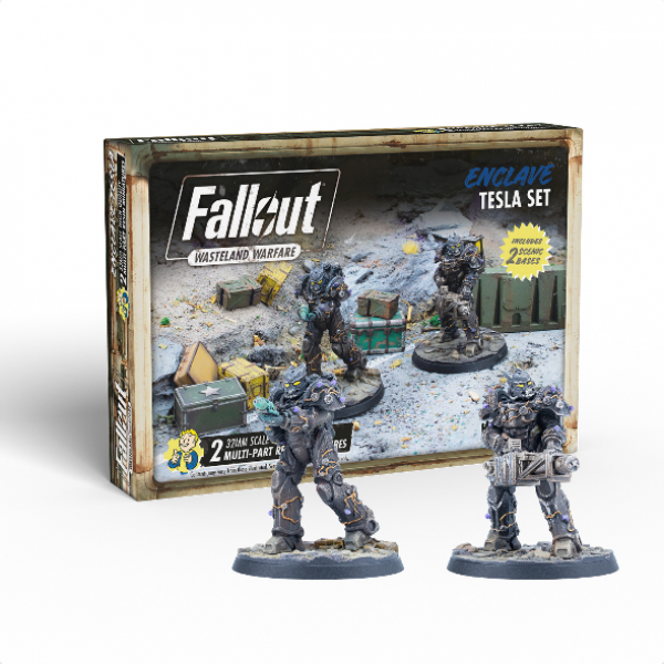 Fallout RPG: Wasteland Warfare - Enclave Tesla Set