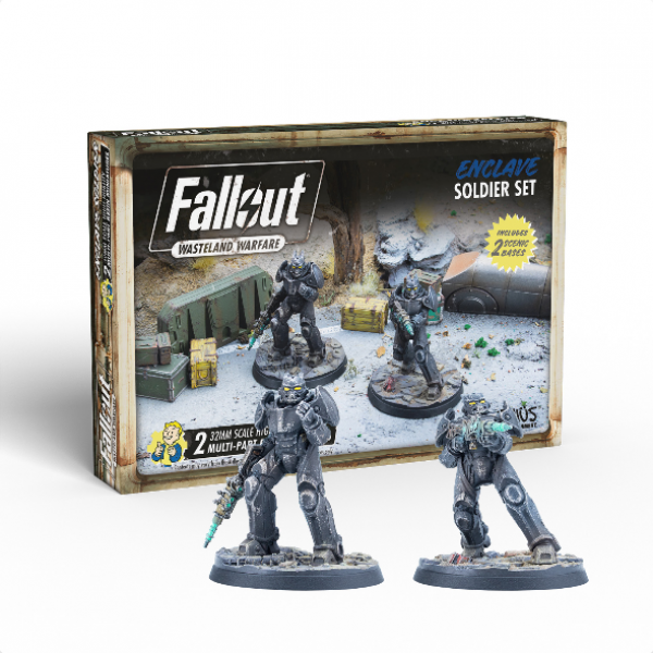Fallout RPG: Wasteland Warfare - Enclave Soldier Set