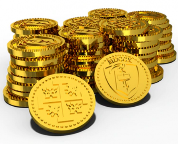 Tiny Epic Pirates Metal Coins (Accessory)