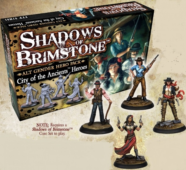 Shadows Of Brimstone: City of the Ancients Alt Gender Hero Pack