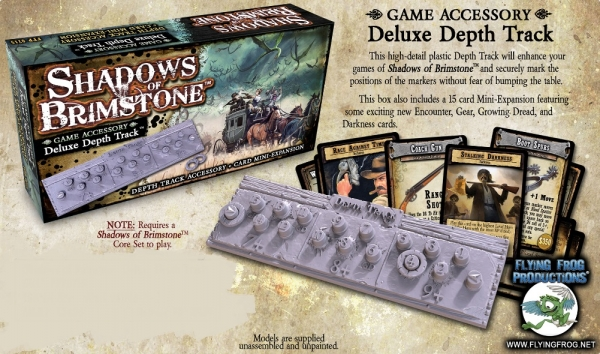 Shadows Of Brimstone: Deluxe Depth Track Expansion