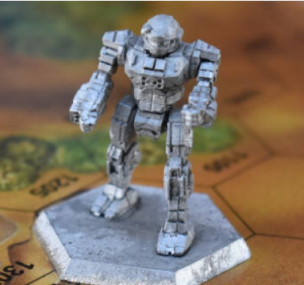 Battletech Miniatures: Commando COM-2D Mech - 25 Tons – TRO Succession Wars
