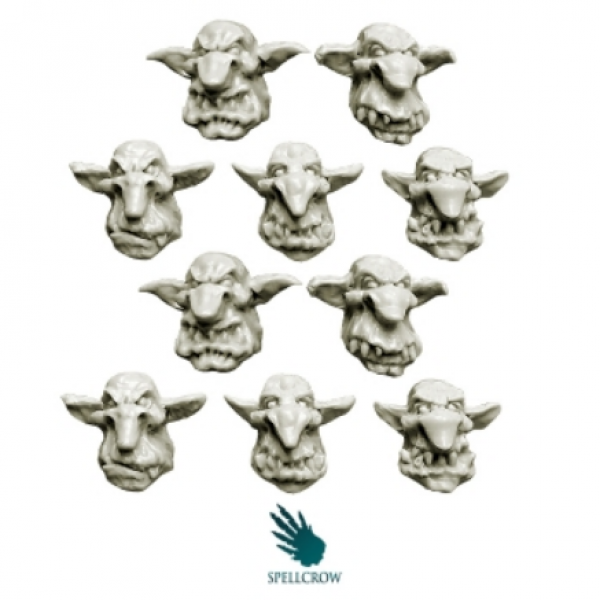 28mm Fantasy: Goblins Heads v.2