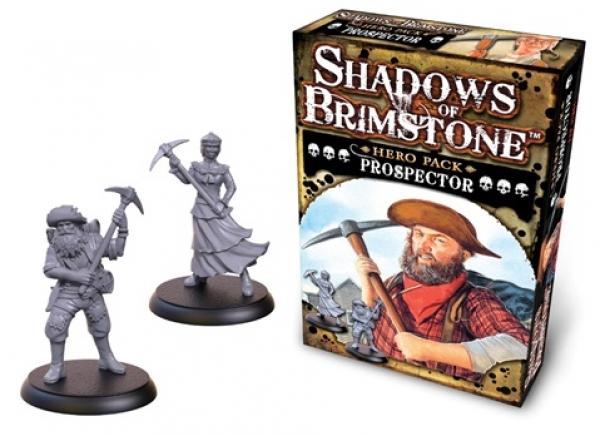 Shadows Of Brimstone: Hero Pack - Prospector