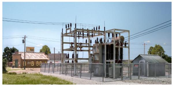 Woodland Scenics Utility System: N Scale Substation