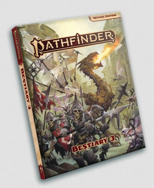 Pathfinder (P2): Bestiary 3 Pocket Edition