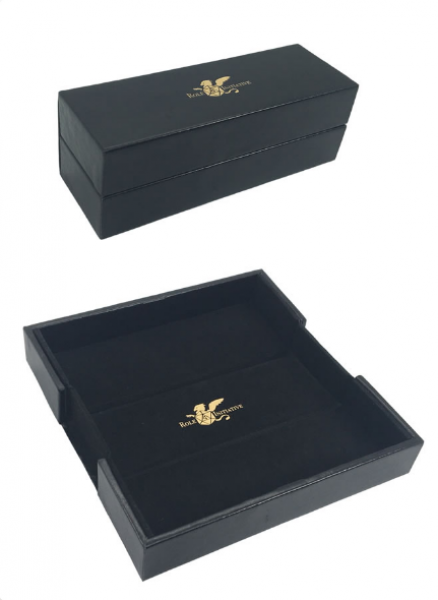 Luxury Faux Leather Dice Box / Rolling Tray (1)