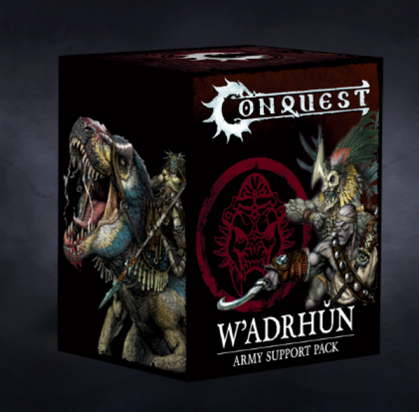 Conquest: W'adrhun Army Support Pack